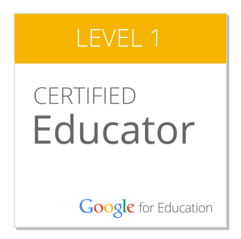 google-certified-educator-lvl-1